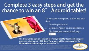 Get a chance to win an Android tablet!