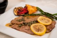 Veal Scaloppini with Lemon and Capers